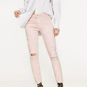 Zara cropped jeans size 2
